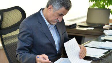 تصویر رئیس اتاق بازرگانی تهران در نقد بخشنامه جدید بانک مرکزی به رئیس جمهور نامه نوشت