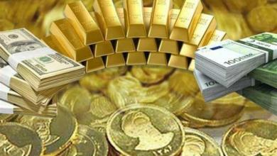تصویر قیمت طلا، سکه، دلار و ارز امروز ۹۹/۱۰/۰۸