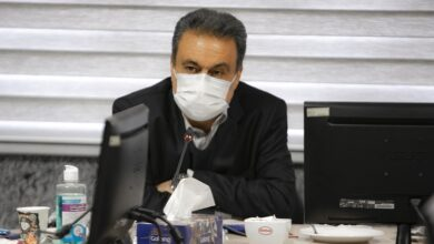تصویر بازدید مدیرعامل بانک ملت از شرکت نفت بهران