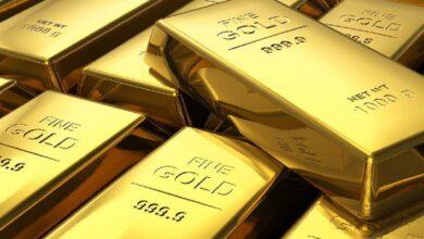 تصویر قیمت اونس طلا کاهش یافت