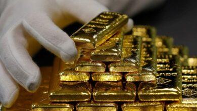 تصویر طلا 20 دلار ارزانتر شد