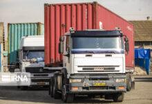 تصویر ۲۷۰ هزار و ۵۰۸ تن کالا از مرزهای شلمچه و چذابه صادر شد