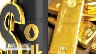 تصویر افزایش قیمت طلا ونفت در بازارهای جهانی