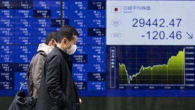 تصویر سهام آسیا اقیانوسیه رشد کرد