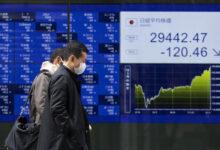 تصویر بازار سهام آسیایی نوسان کرد