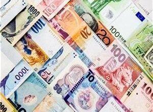 تصویر جزئیات قیمت رسمی انواع ارز/ کاهش نرخ ۲۳ ارز