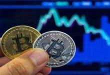 تصویر قیمت بیت کوین به ۳۴ هزار دلار رسید/ سقوط ادامه دار ارزش ارزهای دیجیتال