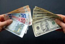 تصویر نرخ رسمی یورو و پوند افزایش یافت
