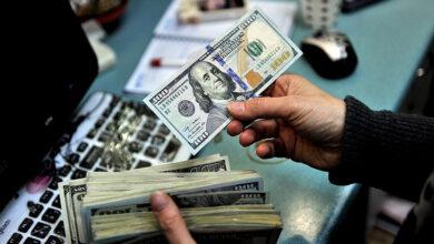 تصویر قیمت دلار و یورو در بازار آزاد، امروز ۵ مرداد ۱۴۰۰