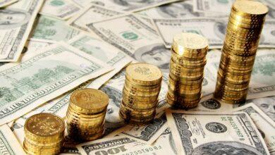 تصویر نوسان دلار در کانال ۲۷ هزار تومانی