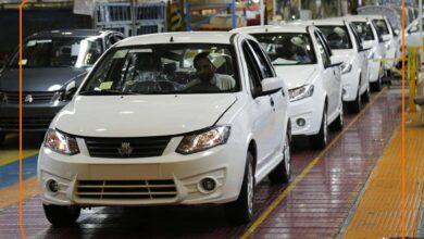 تصویر قیمت خودروهای سایپا امروز شنبه ۳ مهر ۱۴۰۰