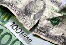 تصویر سقوط یک باره قیمت دلار